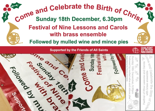 All Saints Church Birth of Christ Celebration