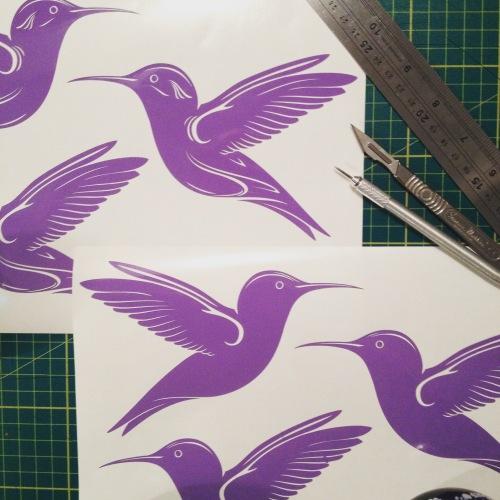 Bird Vinyl Decals